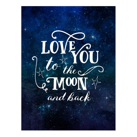 Love you to the moon and back stars