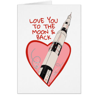 Love You To The Moon & Back - Card