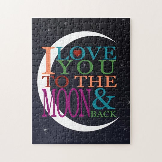 Love You to the Moon & Back Jigsaw