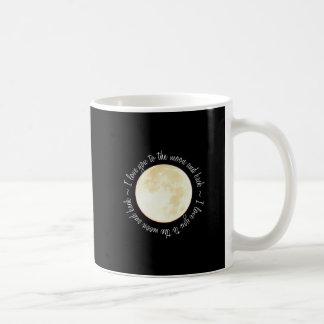 Love You to the Moon Basic White Mug