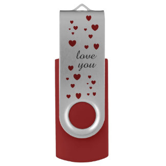 love you USB by DAL USB Flash Drive