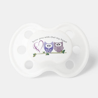 Love You with Owl my Heart, cute Owls art gifts Dummy