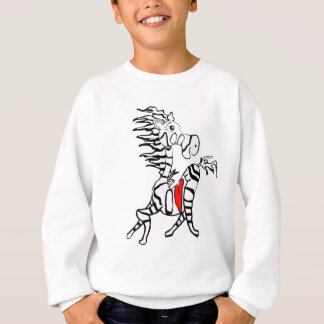 LOVE YOU ZEBRA SWEATSHIRT