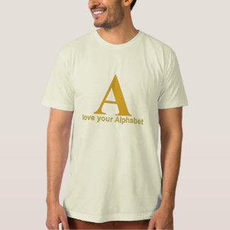 Love your Alphabet: A T-Shirt
