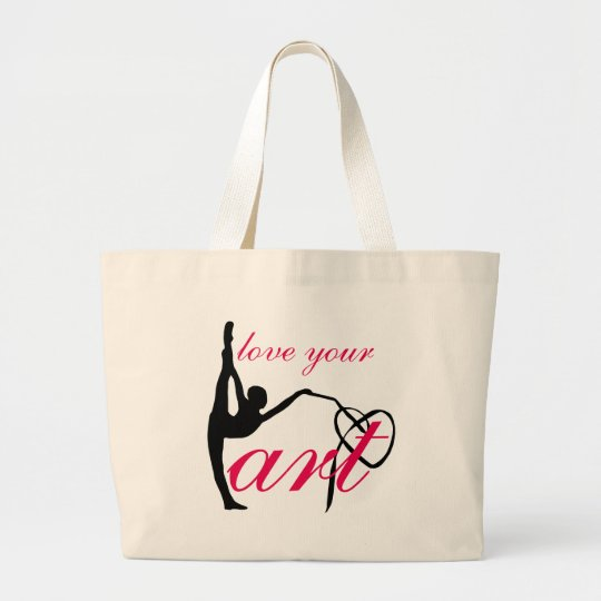 """Love Your Art"" Rhythmic Gymnastics Dance Ba Large"