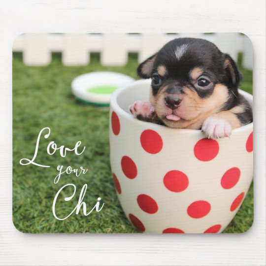 Love Your Chi Chihuahua Mouse Pad