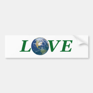 Love Your Earth Bumper Sticker