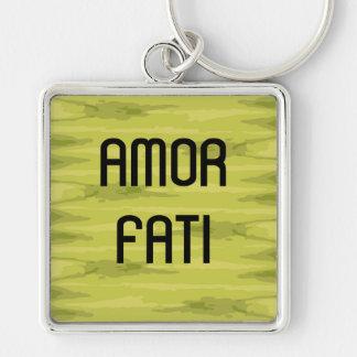 Love Your Fate Latin Keychain
