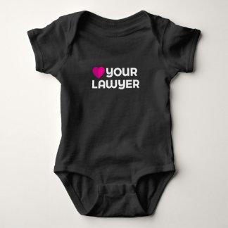 Love Your Lawyer Baby Bodysuit