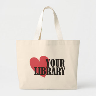 Love Your Library Canvas Bags