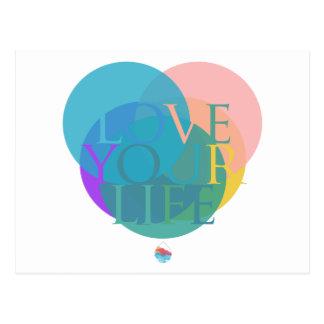 Love Your Life Postcard