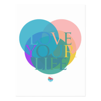 Love Your Life Postcard