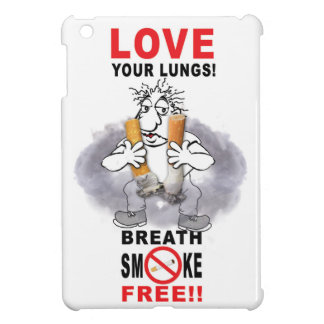 Love Your Lungs - Stop Smoking iPad Mini Covers