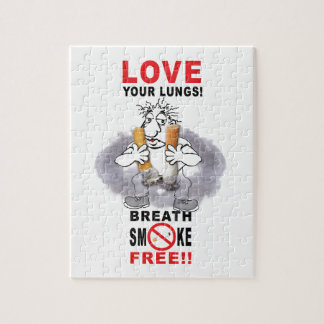Love Your Lungs - Stop Smoking Jigsaw Puzzle