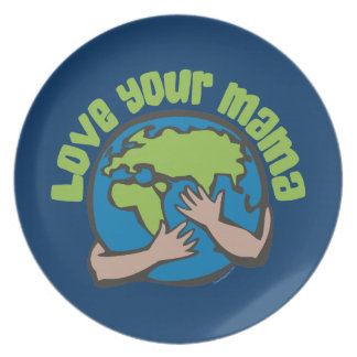 Love Your Mama Dinner Plate