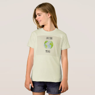 Love Your Mother Organic Girl's T-Shirt
