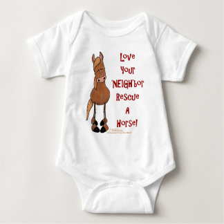 Love your 'NEIGH'bor Horse Rescue T-shirts