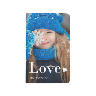 Love | Your Personal Photo and a Heart Journal
