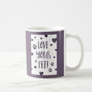 love your pet day basic white mug