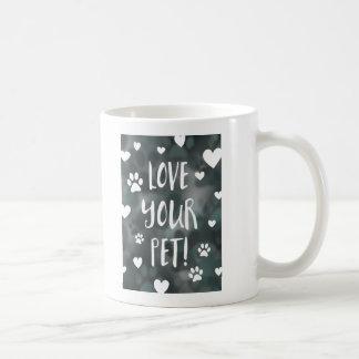 love your pet day basic white mug
