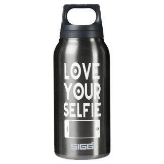 Love Your Selfie Insulated Water Bottle
