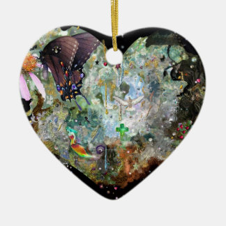 Love your world! christmas ornament
