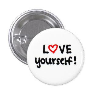 LOVE yourself! 3 Cm Round Badge