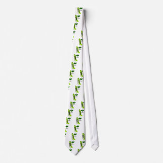 Love Zesty Lime Green Stiletto Shoe and Heart Tie