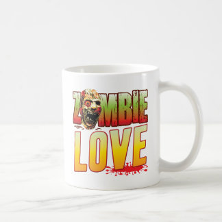 Love Zombie Head Coffee Mug
