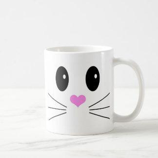 Loveable Face 1 Basic White Mug