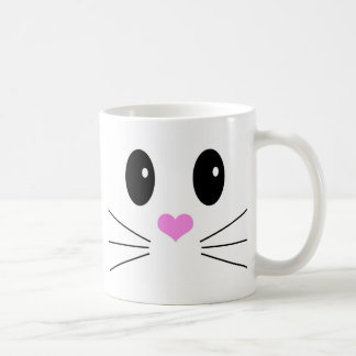 Loveable Face 1 Classic White Coffee Mug