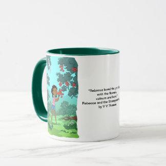 Loveable flowers designed mug