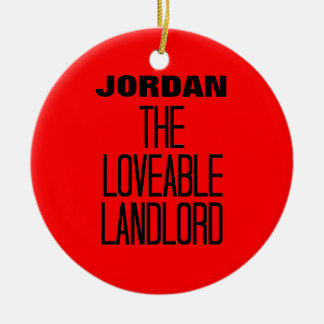 Loveable Landlord Christmas Ornament