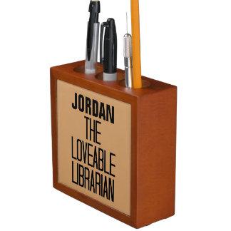 Loveable Librarian Desk Organiser