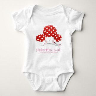 Loveable Mushrooms Baby Bodysuit