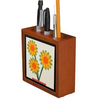 Loveable Sunflowers Desk Organiser