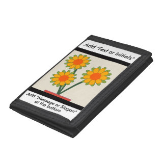 Loveable Sunflowers Trifold Wallet