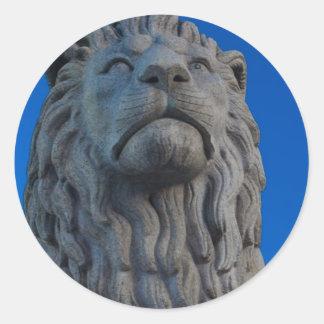 Løvebakken Round Sticker