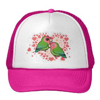 Lovebird Love Heart Cap