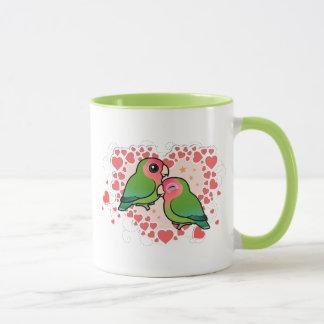 Lovebird Love Heart Mug