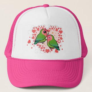 Lovebird Love Heart Trucker Hat