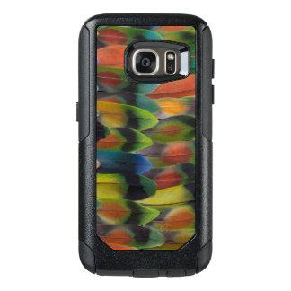 Lovebird Tail Feather Pattern OtterBox Samsung Galaxy S7 Case