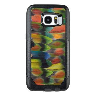 Lovebird Tail Feather Pattern OtterBox Samsung Galaxy S7 Edge Case