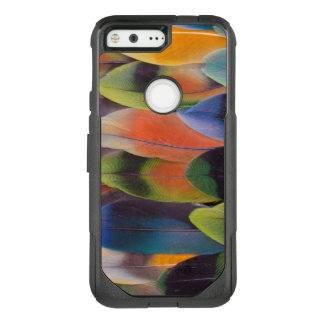 Lovebird Tail Feathers Abstract OtterBox Commuter Google Pixel Case