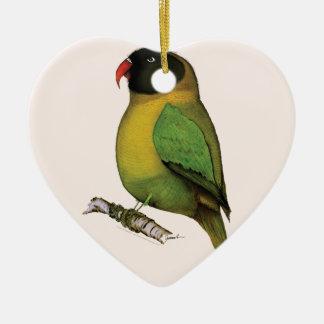 lovebird, tony fernandes christmas ornament