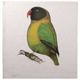 lovebird, tony fernandes napkin