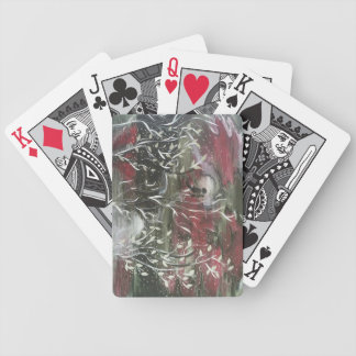 Lovebirds Bicycle Playing Cards