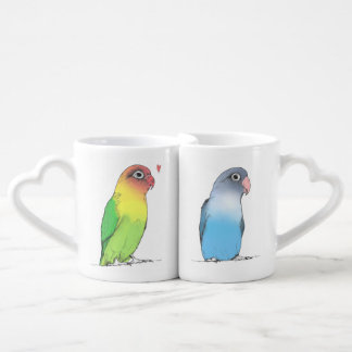 Lovebirds Couples' Mugs | Cute and Romantic