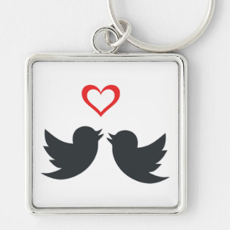 LOVEBIRDS KEY RING