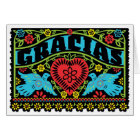 Lovebirds Papel Picado Note Card